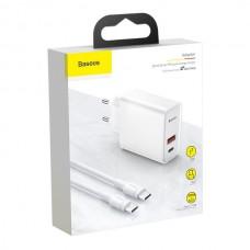 Baseus Speed PPS Type-C+USB QC3.0 30W (TZCAFS-A02)