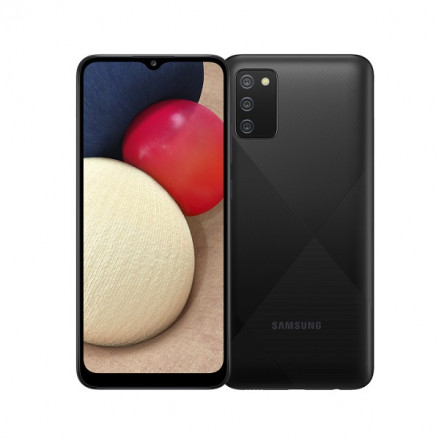 Samsung Galaxy A02s 3/32Gb черный