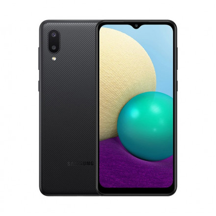 Samsung Galaxy A02 2/32Gb черный