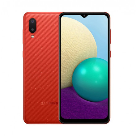 Samsung Galaxy A02 2/32Gb красный