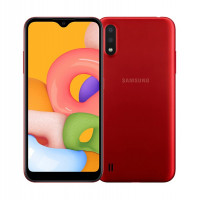 Samsung Galaxy M01 3/32Gb красный