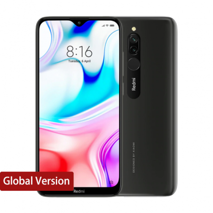 Xiaomi RedMi 8 4/64Gb черный