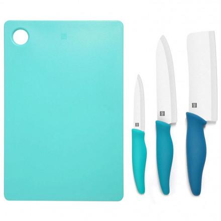 Xiaomi Hot ceramic 3 ножа и доска