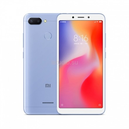 Xiaomi RedMi 6 4/64Gb синий
